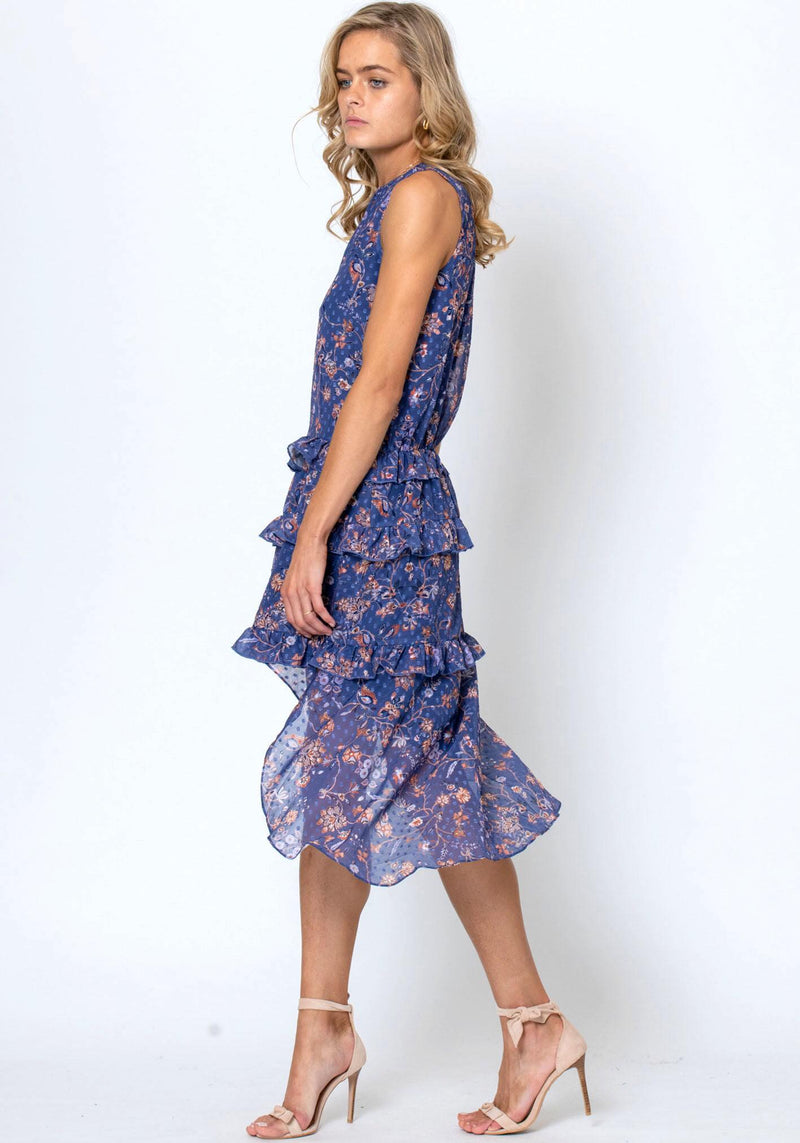 Worship Floral Villa Dress