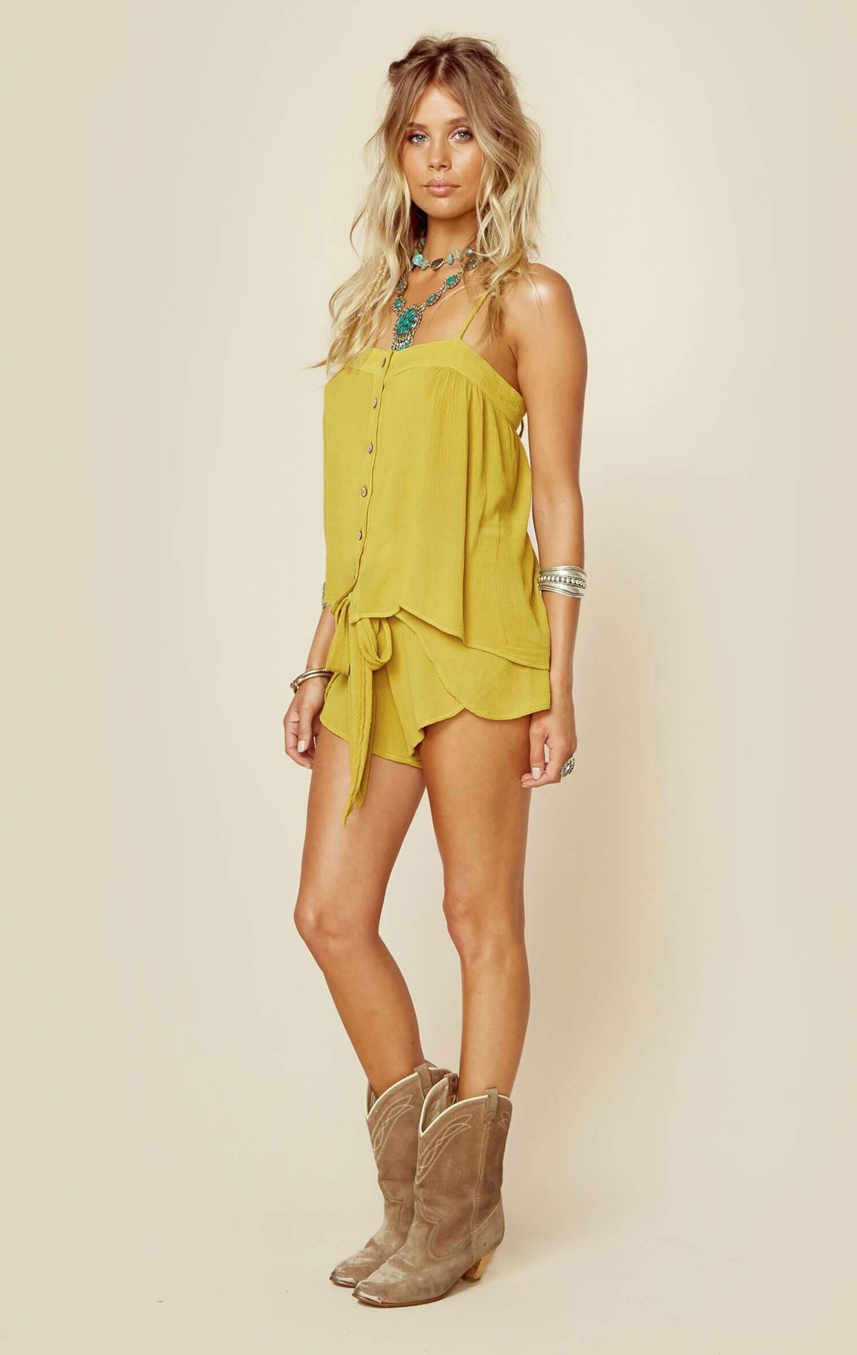 Mohave button front Cami