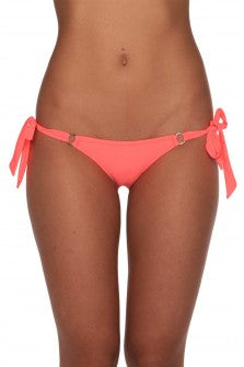 BRAZILIAN COPA BOTTOM NEON CORAL