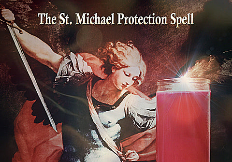 St. Michael Protection Spell for Wiccan, Pagan, Conjure & Hoodoo Rituals