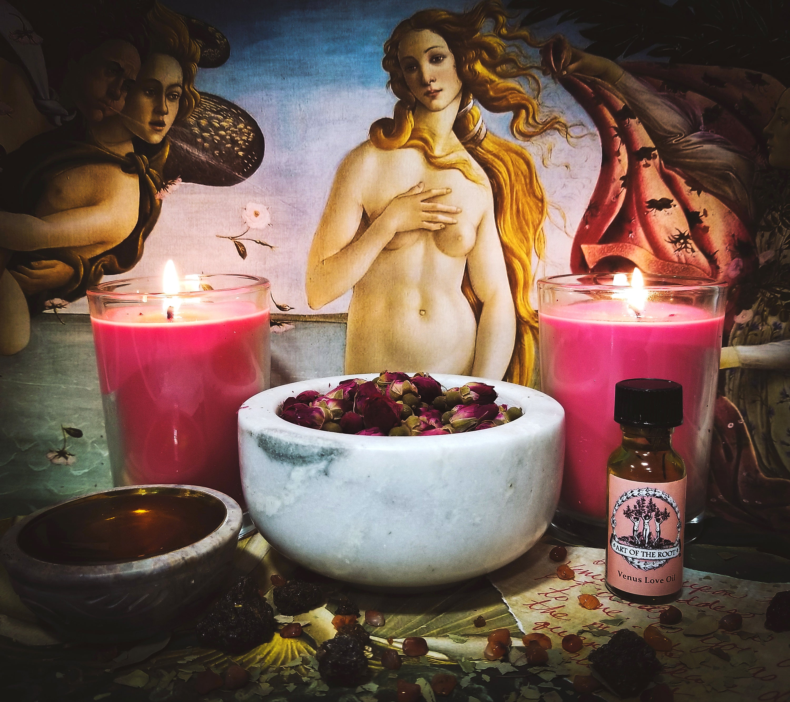 The Venus Love & Attraction Spell for Wiccan & Pagan Rituals