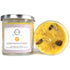 Solar Plexus Soy Chakra Candle with Crystals, Herbs & Essential Oils