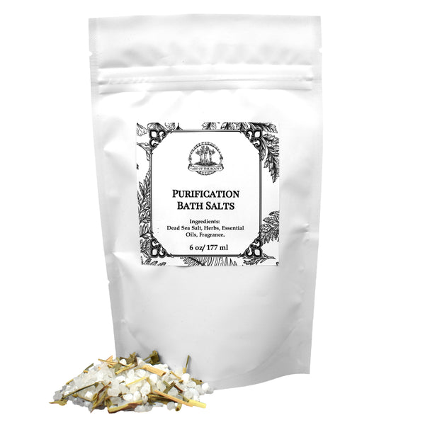 Purification Bath Salts for Hoodoo, Voodoo, Wicca and Pagan Rituals