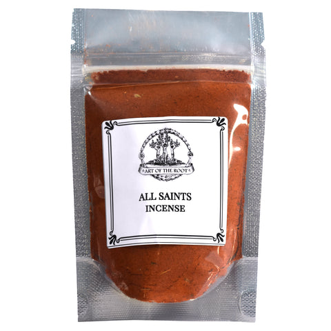 All Saints Incense 1.25 oz for Hoodoo, Voodoo, Wicca & Pagan Rituals