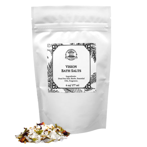 Vision Bath Salts for Hoodoo, Voodoo, Wicca & Pagan Rituals