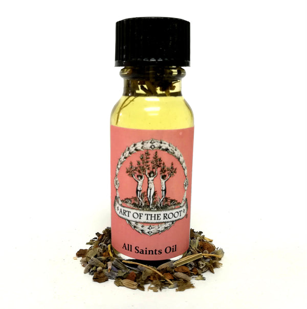 All Saints Oil 1/2 oz for Hoodoo, Voodoo, Wicca & Pagan Rituals