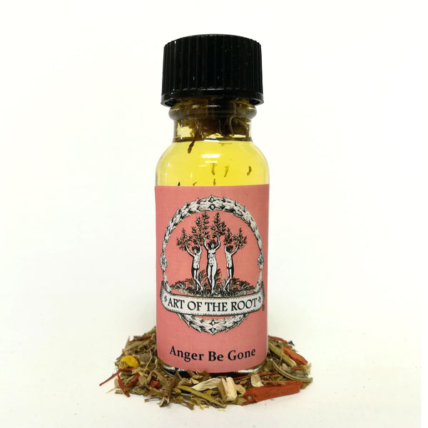 Anger Be Gone Oil 1/2 oz for Hoodoo, Voodoo, Wicca & Pagan Rituals