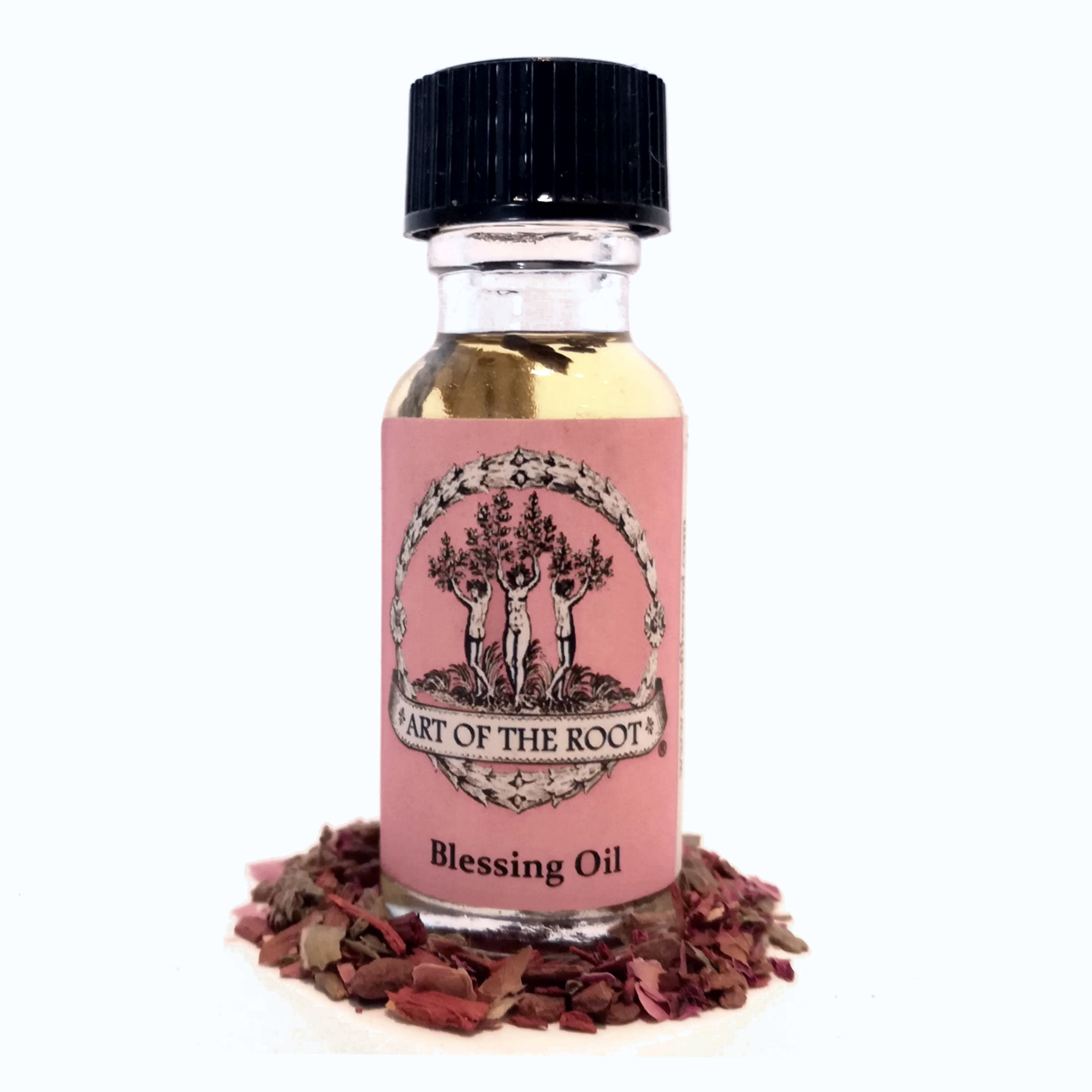 Blessing Oil For Healing, Purification & Prayer (Wiccan Pagan Hoodoo)