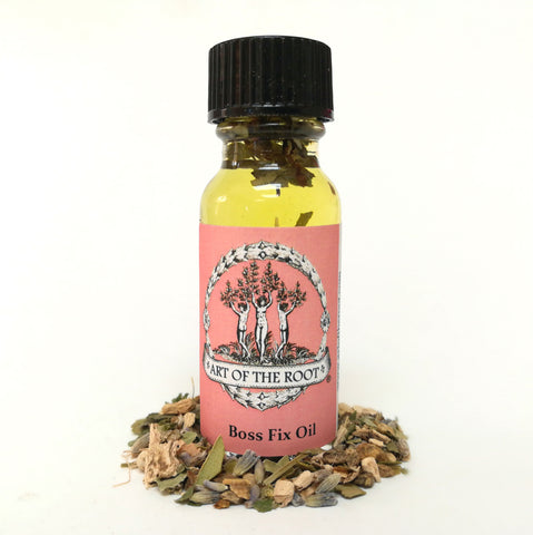 Boss Fix Oil for Hoodoo, Voodoo, Wiccan & Pagan Spells & Rituals