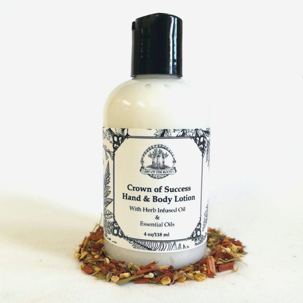 Crown of Success Hand & Body Lotion for Success, Prosperity & Achievement