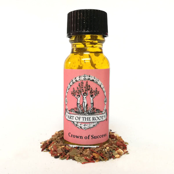 Crown of Success Oil 1/2 oz for Hoodoo, Voodoo, Conjure, Wicca & Pagan Divination