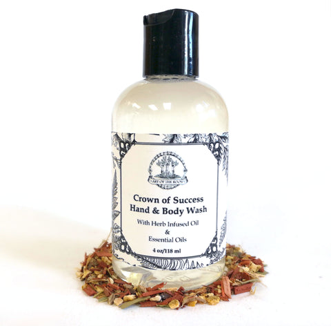 Crown of Success Bath Wash for Success, Prosperity, Victory & Good Luck