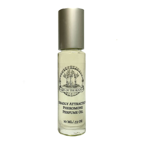 Deadly Attraction Roll-On Perfume Oil with Pheromones for Passion, Seduction, Arousal & Romance