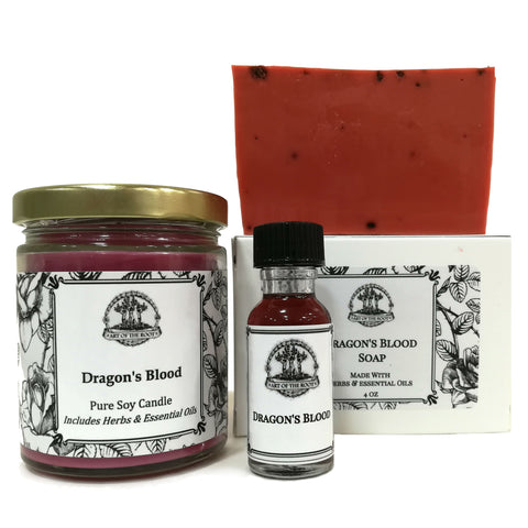 Dragon's Blood Spell Kit for Love, Power, Purification & Protection