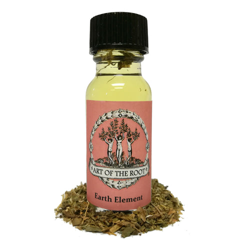 Earth Elemental Oil for Abundance, Wealth, Stability & Family Matters