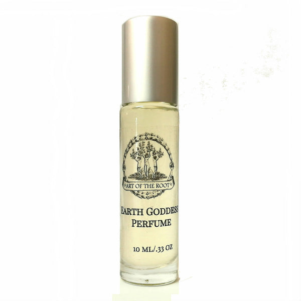 Earth Goddess Roll On Perfume Oil for Prosperity, Stability, Growth and Grounding Energy