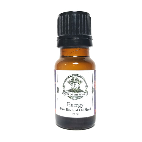 Energy Pure Essential Oil Aromatherapy Blend with Sweet Orange, Lemon, Black Spruce & Lime Essential Oils