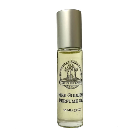 Fire Goddess Roll-On Perfume Oil for Passion, Confidence, Power & Manifestation