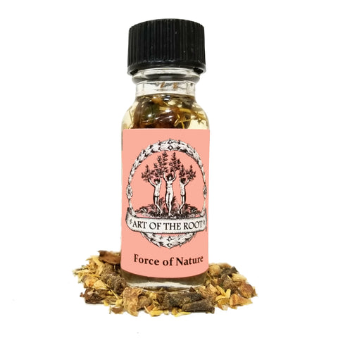 Force of Nature Oil for Success, Power, Achievement, Prosperity & Influence