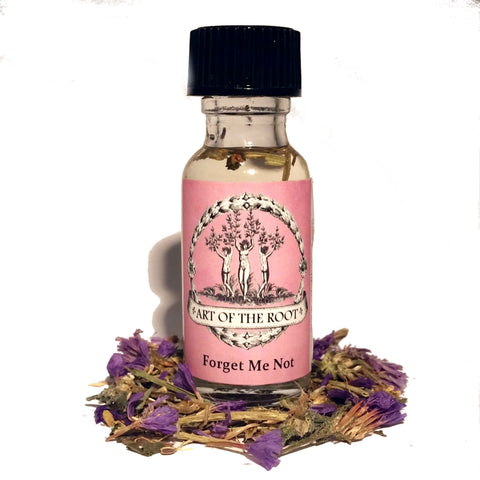 Forget Me Not Oil for Enduring Love, Fidelity, Commitment & Marriage Proposals