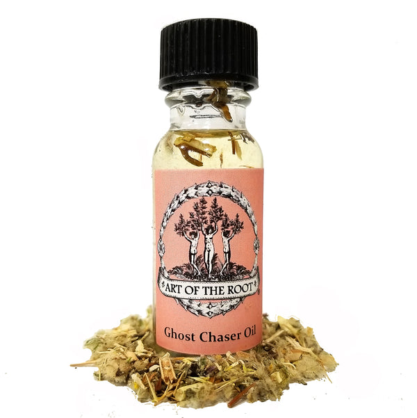 Ghost Chaser Oil for Wiccan, Pagan, Hoodoo & Magick Rituals