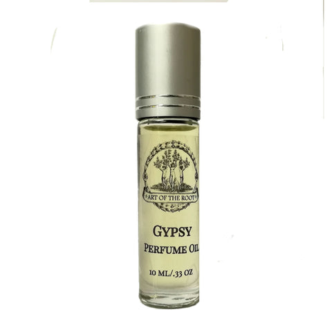 Gypsy Roll On Perfume Oil for Wisdom, Intuition, & Transformation