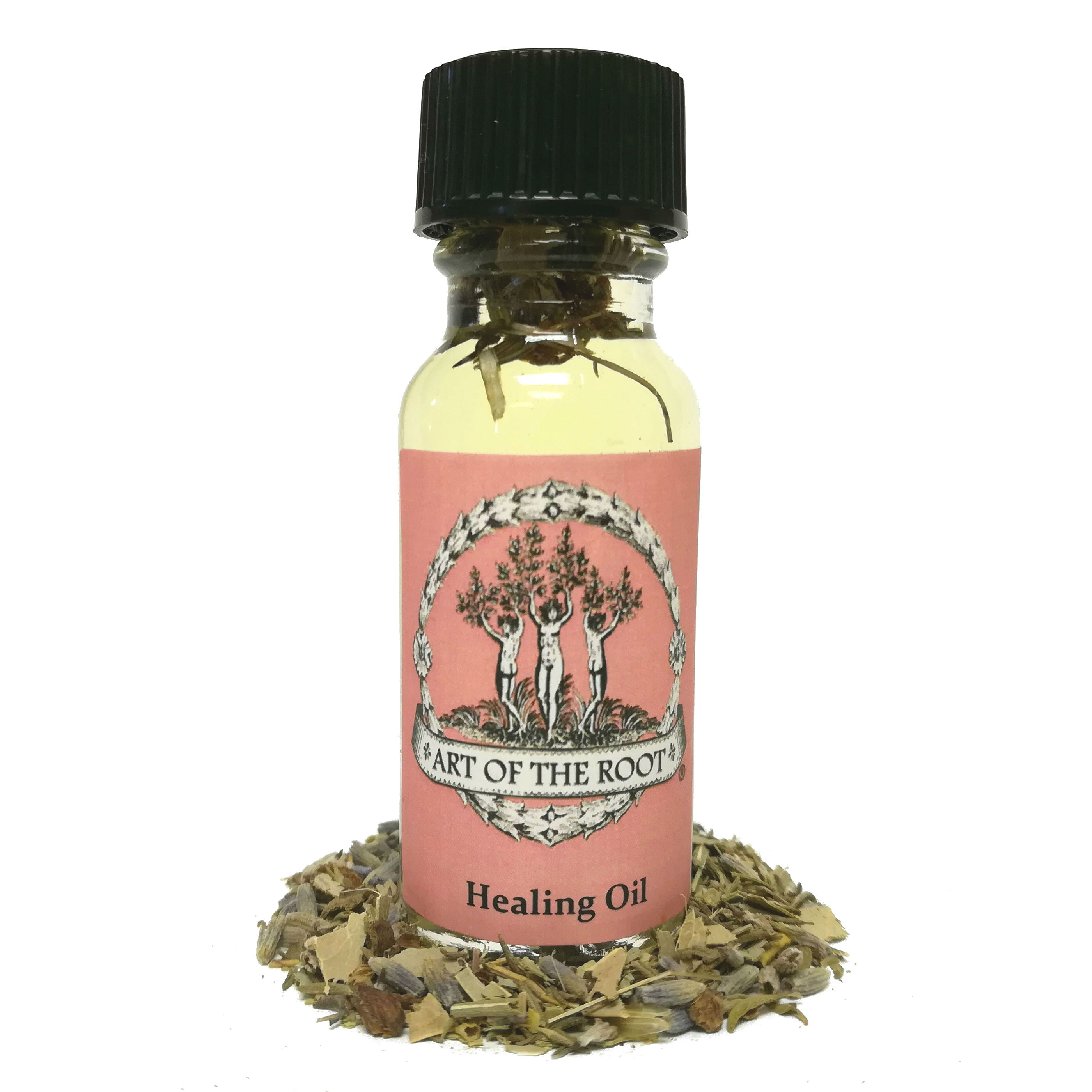 Healing Oil 1/2 oz for Hoodoo, Voodoo, Wicca & Pagan Rituals