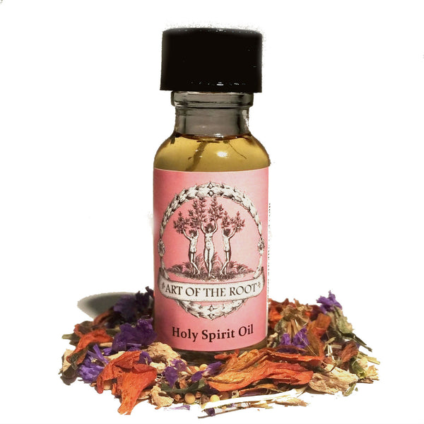 Holy Spirit Oil for Faith, Divine Intervention, Healing & Protection