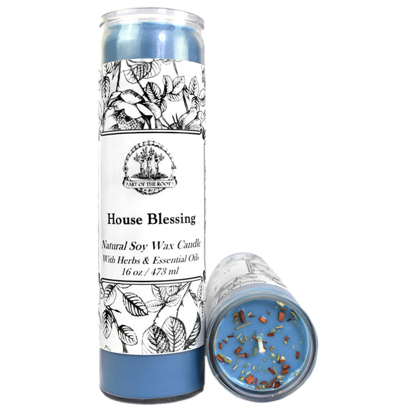 House Blessing 7 Day Candle for Good Fortune, Well-Being, Protection, Prosperity & Blessings