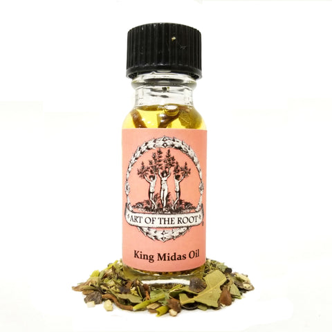 King Midas Oil for Riches, Wealth. Money, Abundance & Prosperity