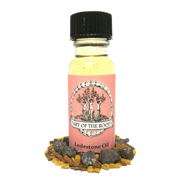 Lodestone Oil for Drawing Love, Money, Luck & Success