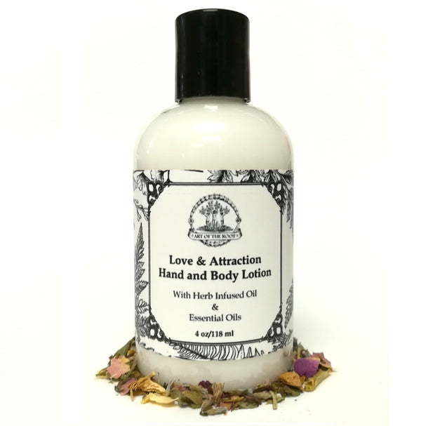 Love & Attraction Hand & Body Lotion for Love, Romance & Commitment