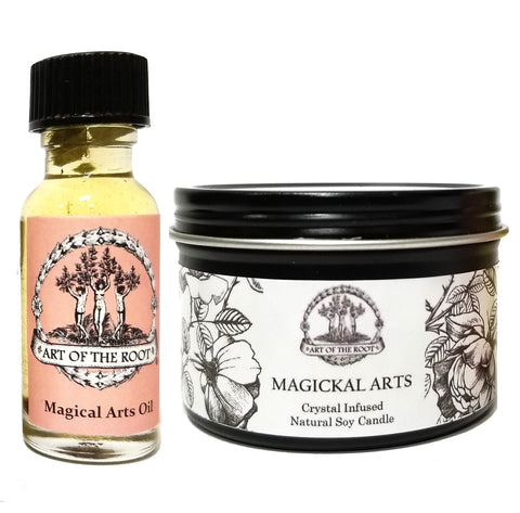 Magickal Arts Mini Set for Spells, Rituals, Sacred Rites, Moon Magic, Petitions & Invocations