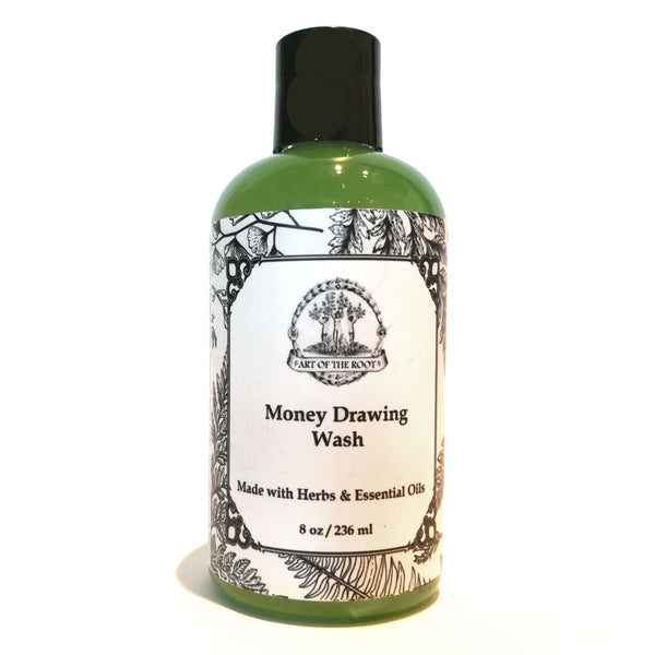 Money Drawing Wash for Abundance, Fast Cash & Material Wealth