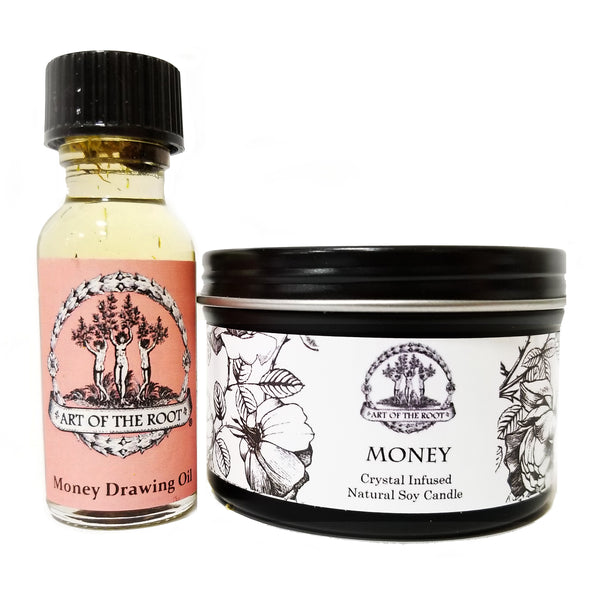Money Mini Spell Set For Wealth, Prosperity, Cash, Abundance & Financial Growth