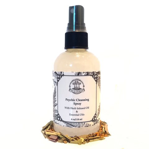 Psychic Cleansing Spray for Negativity, Purification & Psychic Protection
