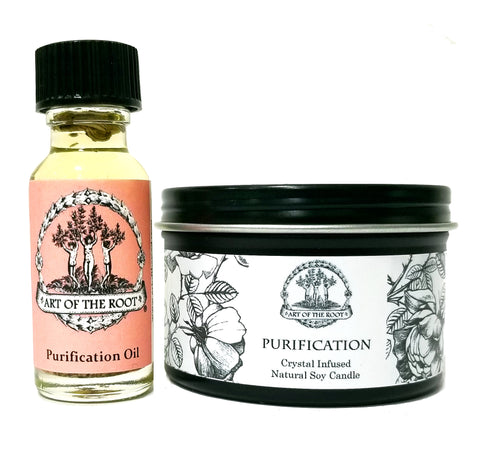 Purification Mini Spell Set to Purify, Cleanse & To Remove Negativity