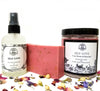 Self-Love Set (Soy Candle, Room & Body Spray & Herbal Shea Soap) for Acceptance, Self-Worth, Healing & Forgiveness