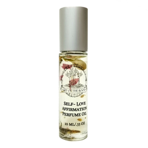 Self-Love Affirmation Roll-On Perfume Oil Acceptance, Self-Worth, Healing & Loss