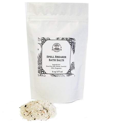 Spell Breaker Bath Salts for Jinxes, Hexes, Curses and Spells
