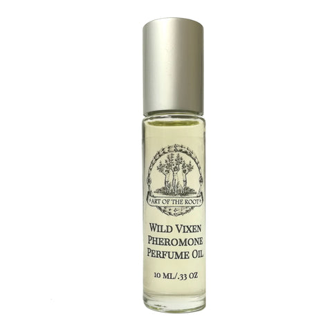 Wild Vixen Roll-On Perfume Oil with Essential Oils & Pheromones for Confidence, Passion & Attraction