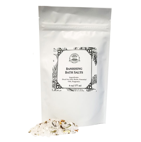 Banishing Bath Salts to Get Rid of People, Habits, or Negative Energy