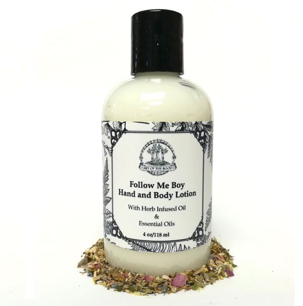 Follow Me Boy Hand & Body Lotion for Love, Romance, Intrigue & Seduction