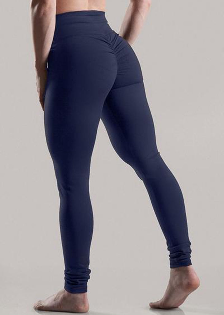 Free Shipping --Solid Seamless High Waisted Yoga Pants Butt Lifting Leggings