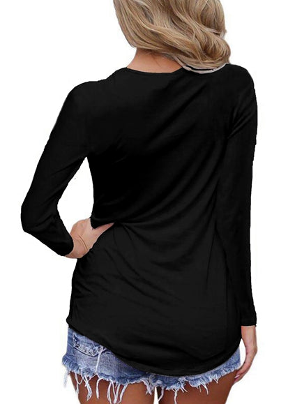 Free Shipping -- Sexy Solid Colors Sexy Criss Cross front  V Neck Blouse