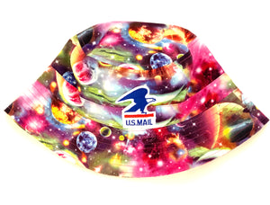GALAXY GONE POSTAL BUCKET HAT
