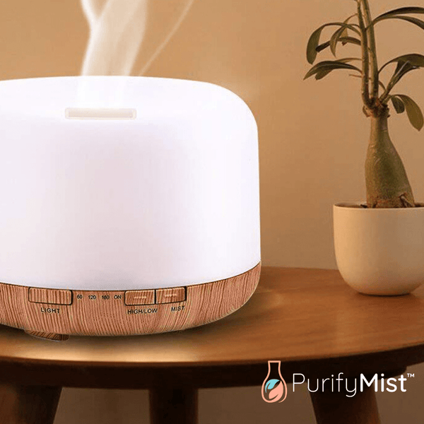 PurifyMist™ Zephyr - Ultrasonic Aroma Essential Oil Diffuser