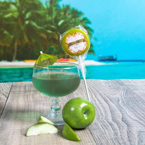 Apple Mocktail Lollipop