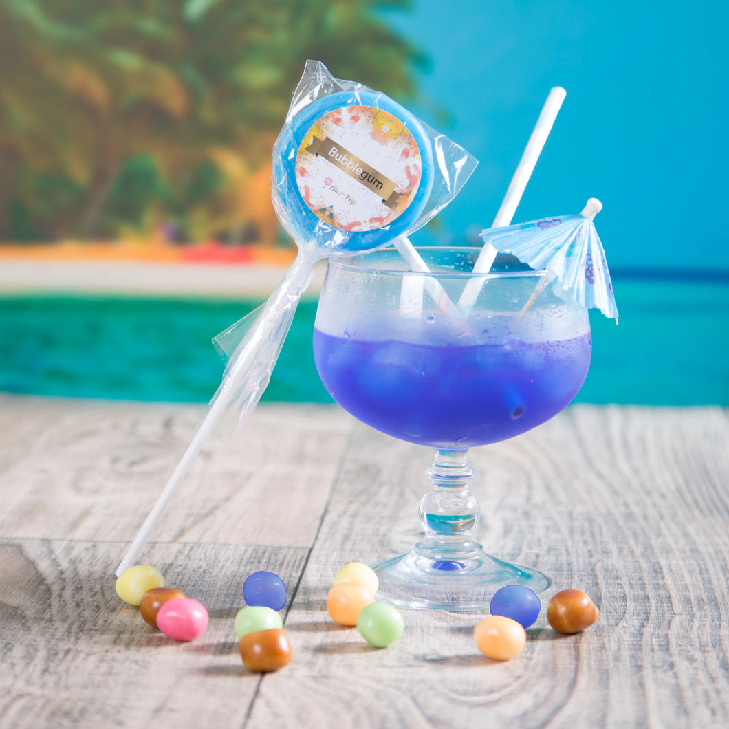 Bubblegum Mocktail Lollipop