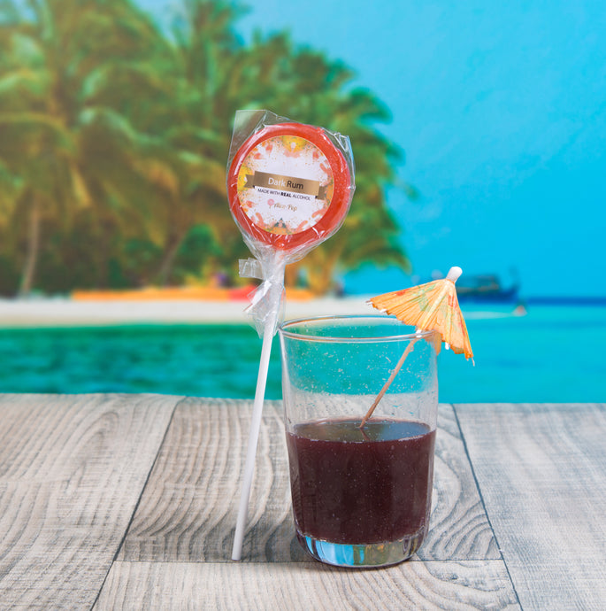 Dark Rum Lollipop